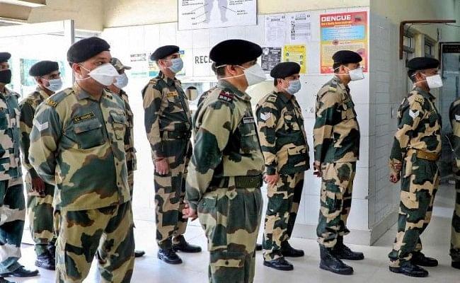 BSF मे पिछले 24 घंटे में कोरोना के 10 नए मामले, कुल मामलों की संख्या 366