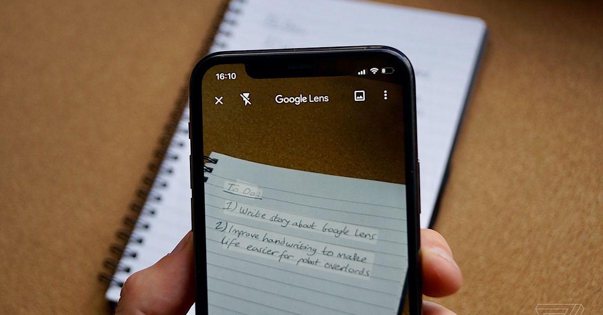 गूगल लेंस से अब शब्द बोलेंगे, हैंडराइटिंग को कर सकेंगे कॉपी-पेस्ट