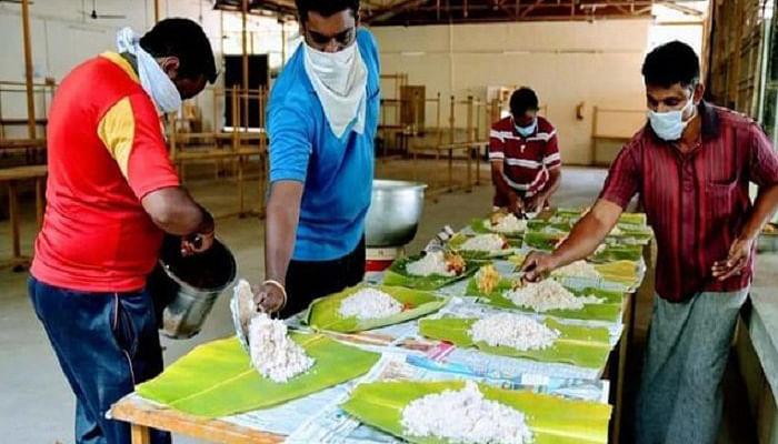 दीदी किचेन व दालभात केंद्र से मिल रहा जरूरतमंदों को भोजन