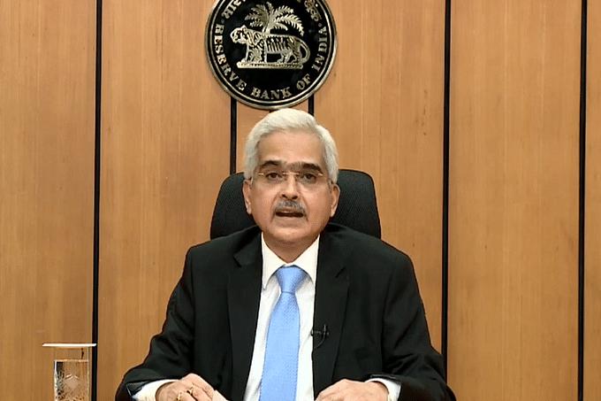 भारतीय रिजर्व बैंक (आरबीआई) के गवर्नर शक्तिकांत दास