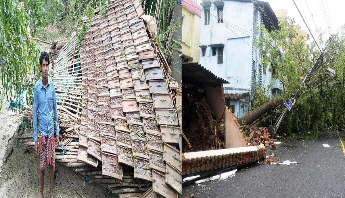 बंगाल में 'अम्फान' से 72 की मौत, मृतक के परिजनों को 2.5 लाख का मुआवजा, सीएम ने राहत के लिए 1000 करोड़ रुपये के फंड की घोषणा की