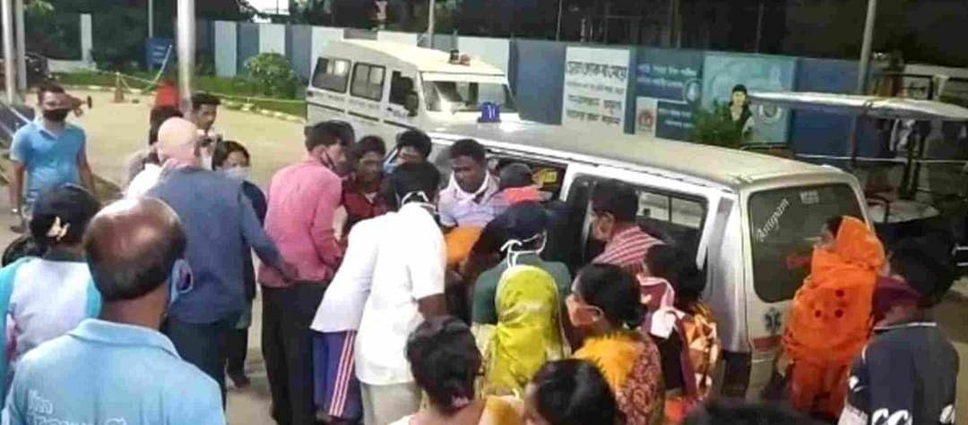 बीरभूम जिले में वज्रपात से चार युवकों की मौत, चार गंभीर