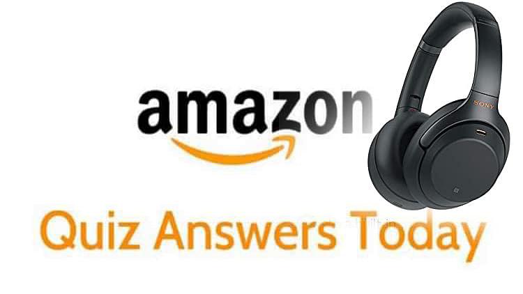 Amazon quiz answers today 09 May 2020: अगर Sony का जीतना है ये headphone तो यहां से दें अमेजन के इन पांच सवालों के जवाब