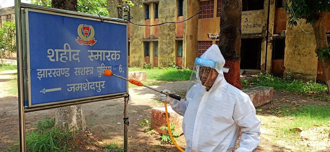 झारखंड : JAP-6 का जवान कोरोना की चपेट में, जमशेदपुर में 3 नये मरीजों में संक्रमण की पुष्टि