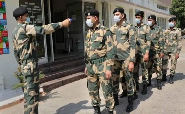 BSF में पिछले 24 घंटे में कोरोना के 11 नए मामले, कुल संख्या बढ़कर हुई 291
