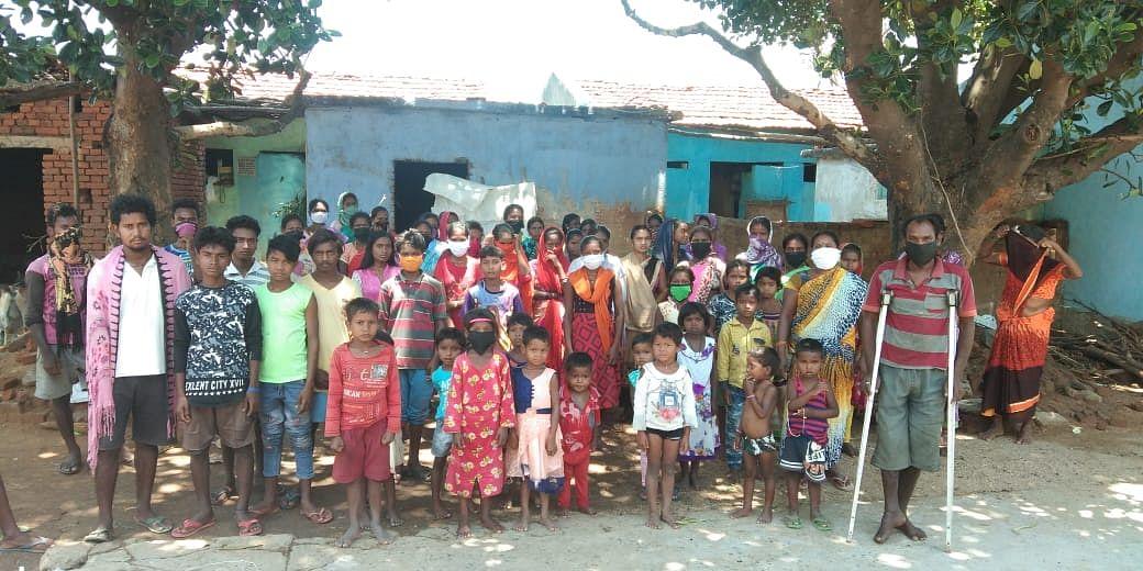 खतरे में पड़ा आदिम जनजाति समुदाय के बिरहोरों का अस्तित्व, लॉकडाउन के कारण भुखमरी की आयी नौबत