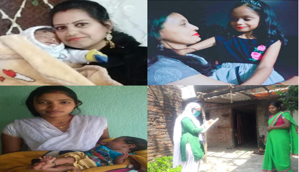 Mother's Day : कोरोना संकट के बीच अपने छोटे बच्चों को छोड़ लोगों की सेवा में लगी ये माताएं