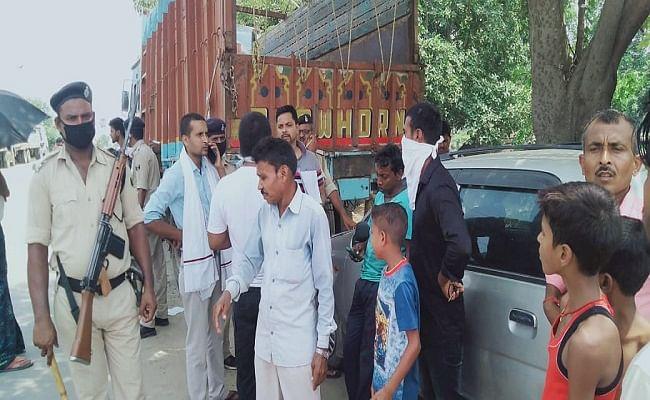 सड़क दुर्घटना में बाइक सवार मां-बेटे की मौत, ईद की खरीदारी कर लौट रहे थे वापस