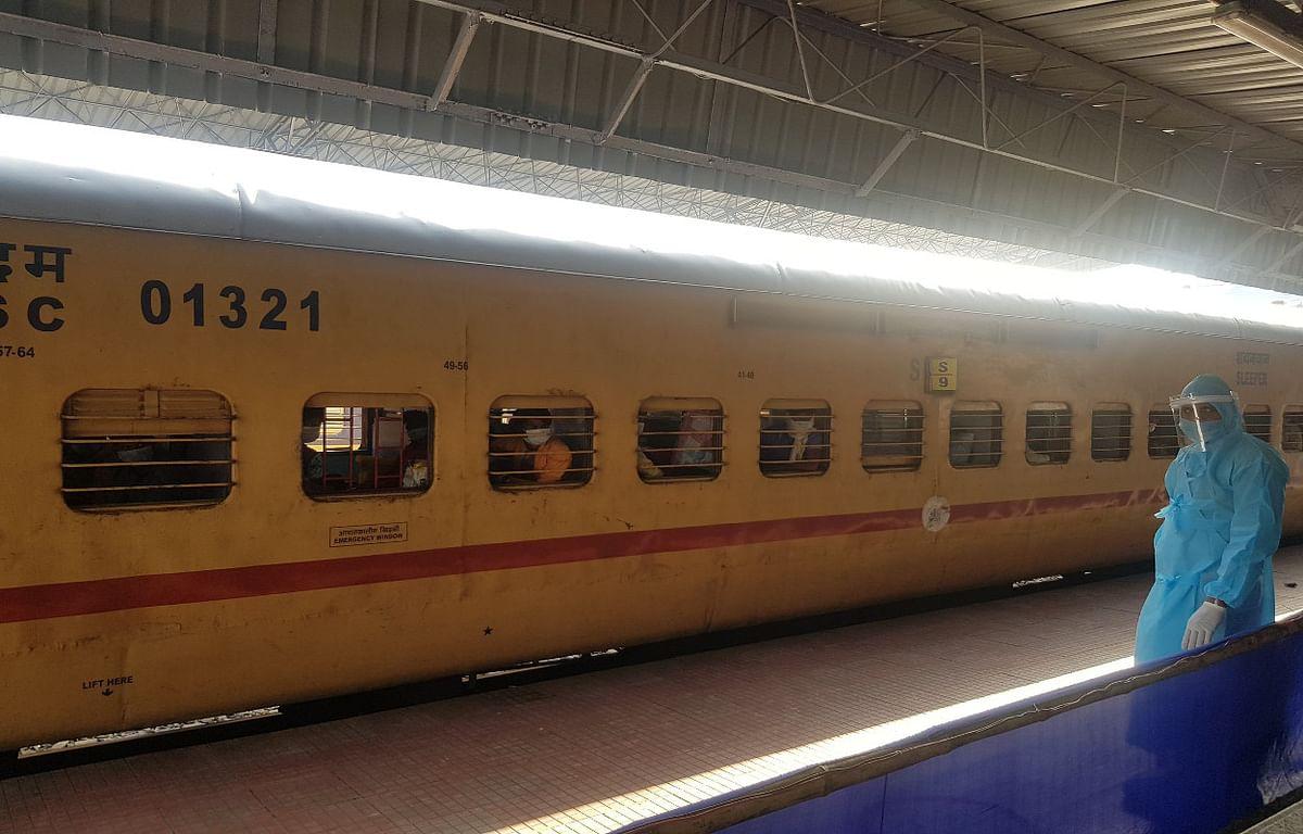 श्रमिक स्पेशल ट्रेन में प्रवासी कामगार की मौत, सह यात्रियों ने शव के साथ की बंगाल तक की यात्रा