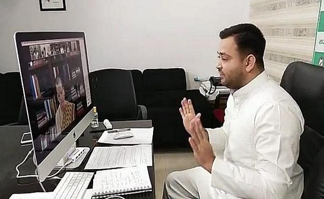 विपक्ष की बैठक में बोले तेजस्वी, UPA की राइट टू फूड और बीजेपी की फेल योजनाओं को प्रचारित करने की जरूरत