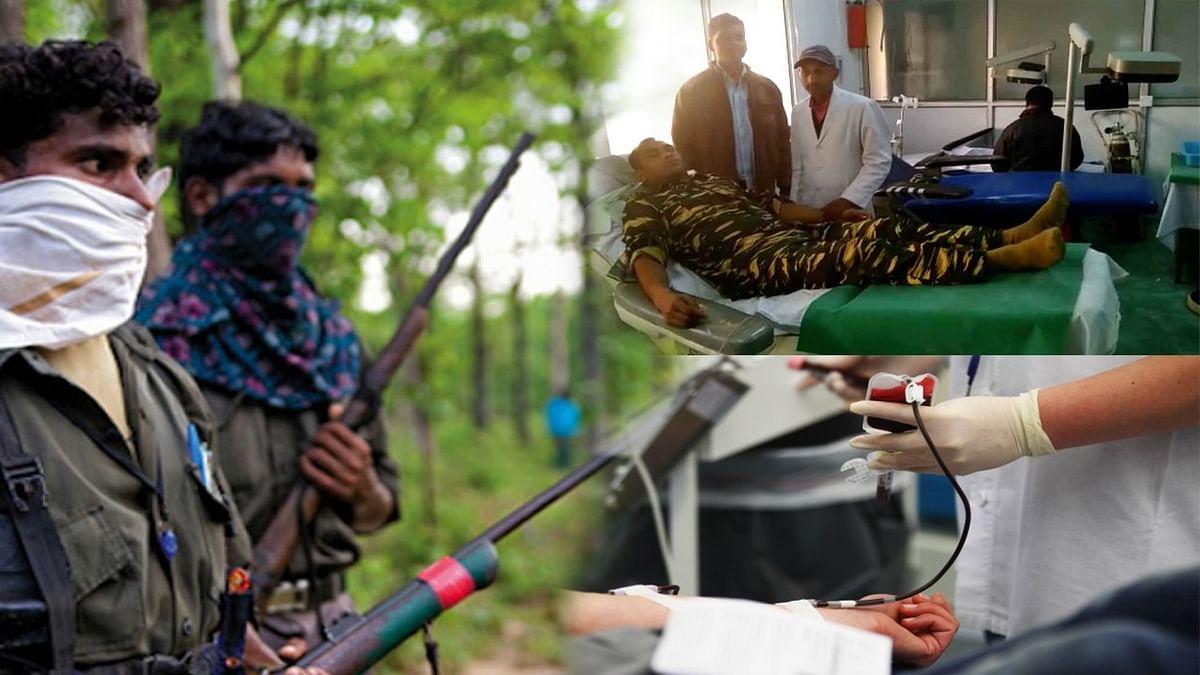 Jharkhand: कल मारी थी गोली जिसे, CRPF जवानों ने खून देकर बचाई उस 'नक्सली' की जान
