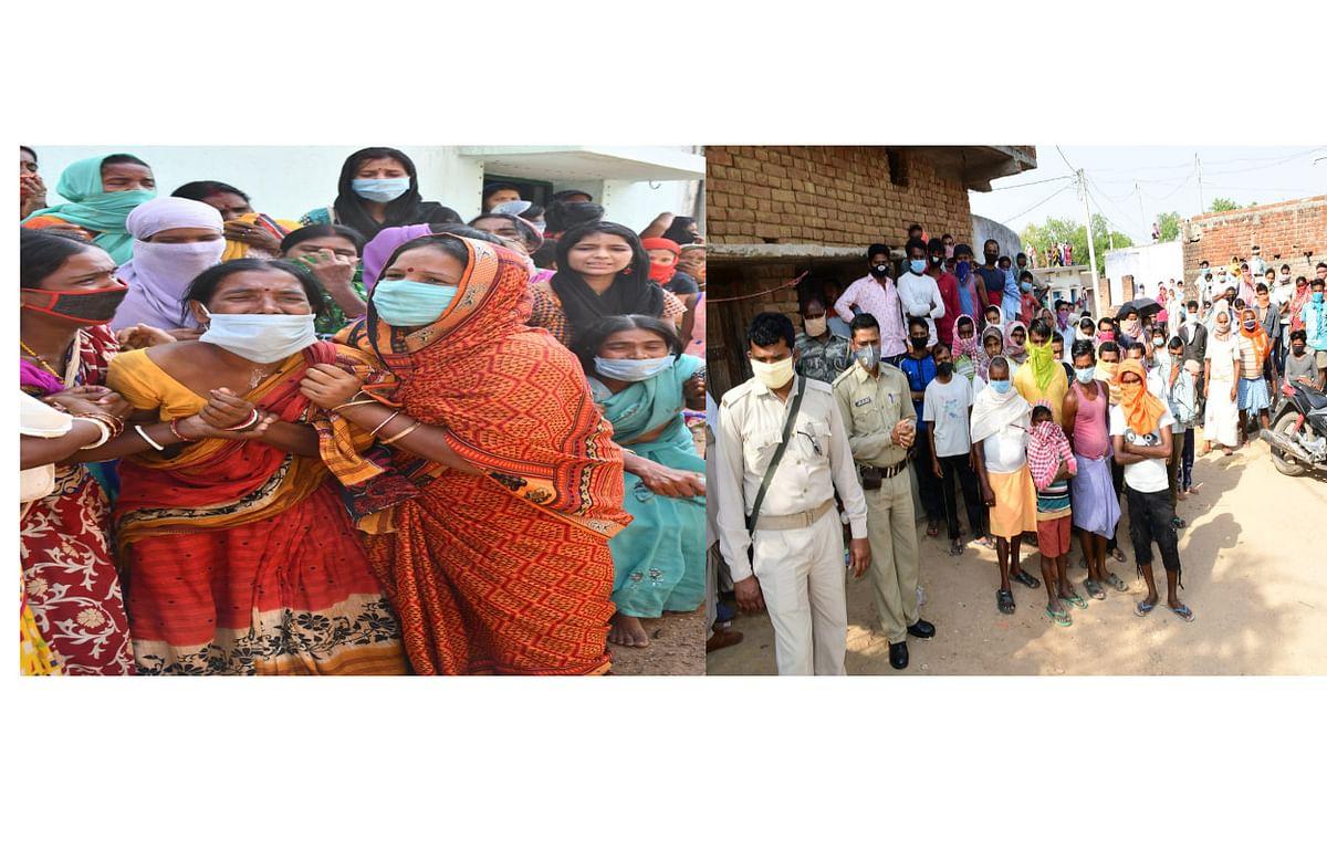यूपी के औरेया सड़क हादसे में मारे गये 11 मजदूरों का शव पहुंचा बोकारो, गांव में पसना सन्नाटा, महिलाओं का रो-रो कर बुरा हाल