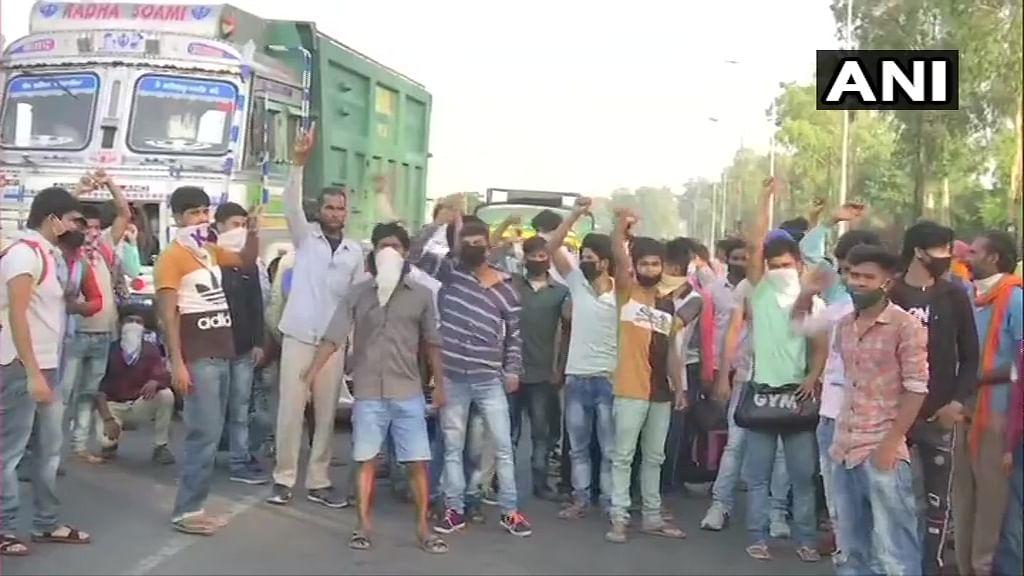 पंजाब में भड़का मजदूरों का गुस्सा, अंतिम वक्त पर रद्द हुई ट्रेन, सरकार के खिलाफ लगाये नारे