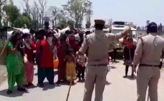 उत्तराखंड के बनबसा में नेपाली नागिरकों ने किया अपनी सरकार के खिलाफ प्रदर्शन
