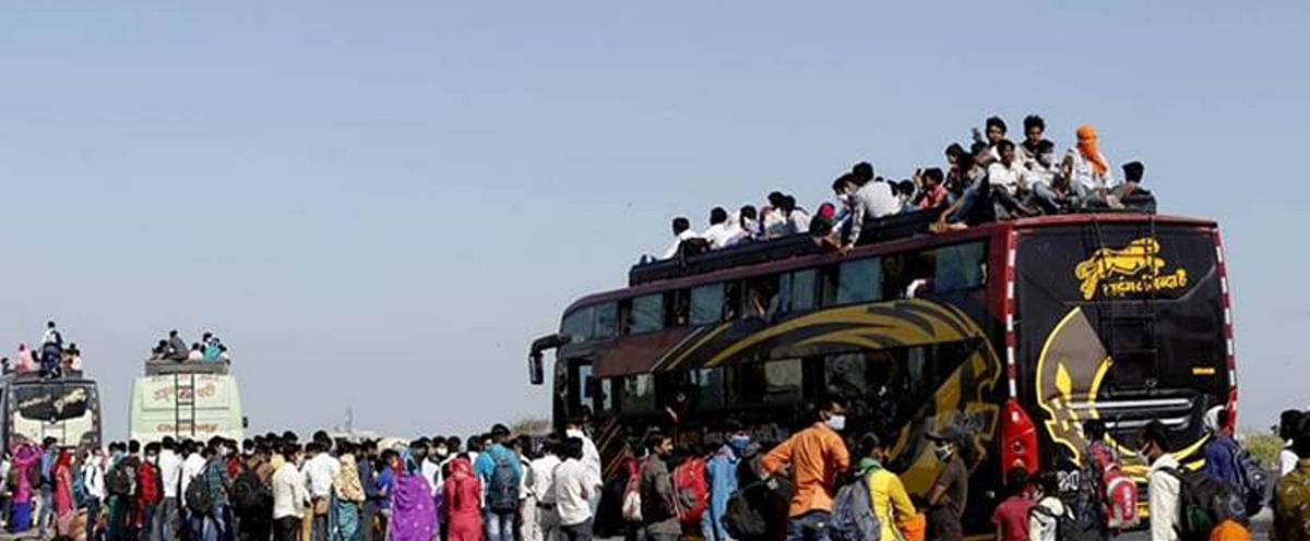 तमिलनाडु के कोयंबटूर में जब्त हुई राजस्थान के प्रवासियों को लेकर आ रही बस