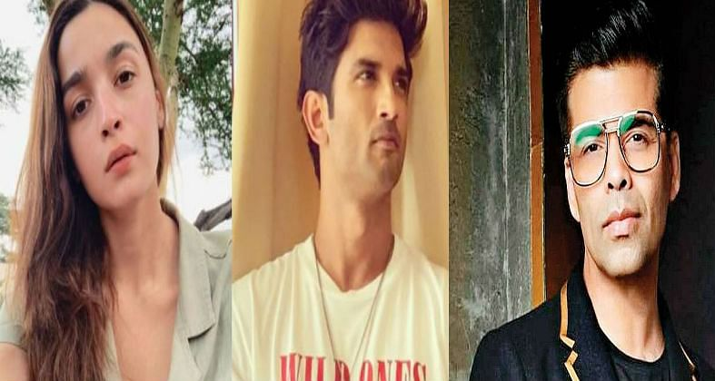 सुशांत सिंह राजपूत के निधन पर करण जौहर और आलिया भट्ट ने जताया शोक, तो सोशल मीडिया यूजर्स ने सुनाया खरी-खोटी