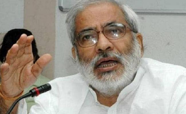 पूर्व केंद्रीय मंत्री रघुवंश प्रसाद सिंह कोरोना पॉजिटिव, खांसी और बुखार की शिकायत पर एम्स में हुए थे भर्ती, राजद ने शीघ्र स्वस्थ होने की कामना की