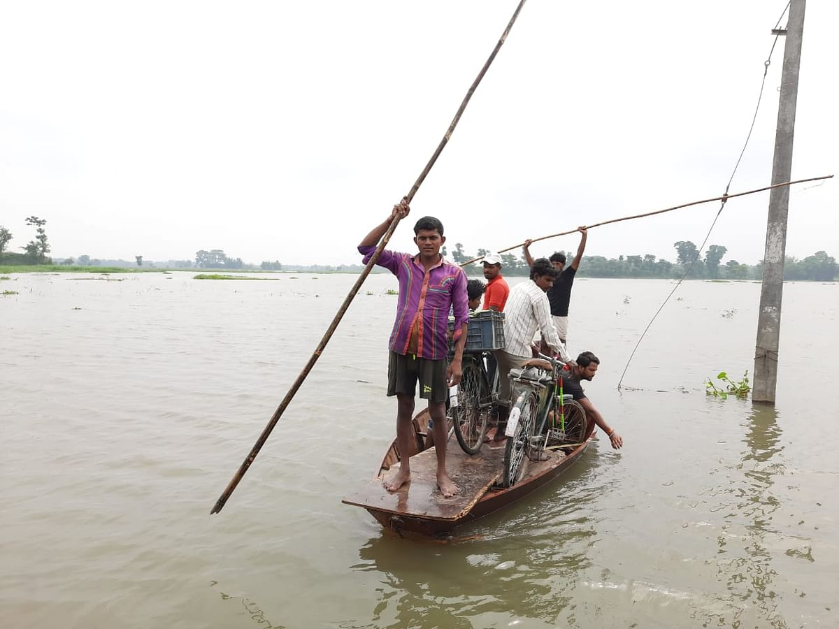 Flood in Bihar: बिहार में बाढ़ का खतरा, निचले इलाकों से लोगों को शिफ्ट करने का निर्देश
