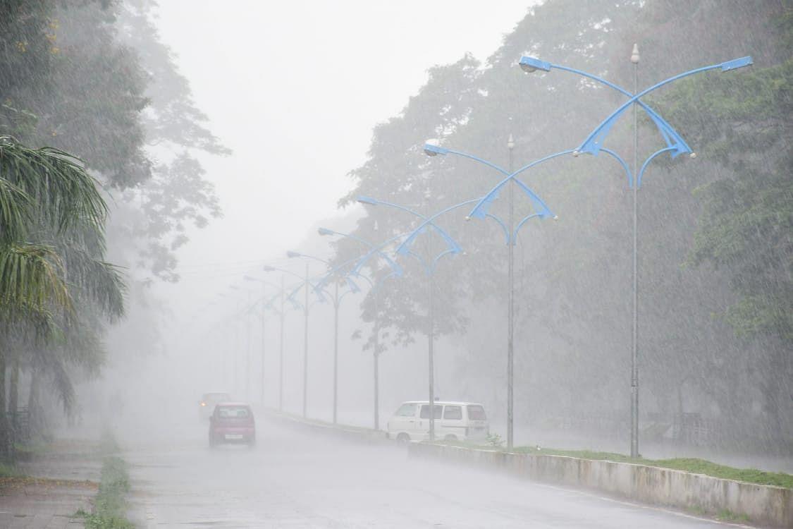 गोड्डा को छोड़ संताल परगना के अन्य जिलों में कम बारिश