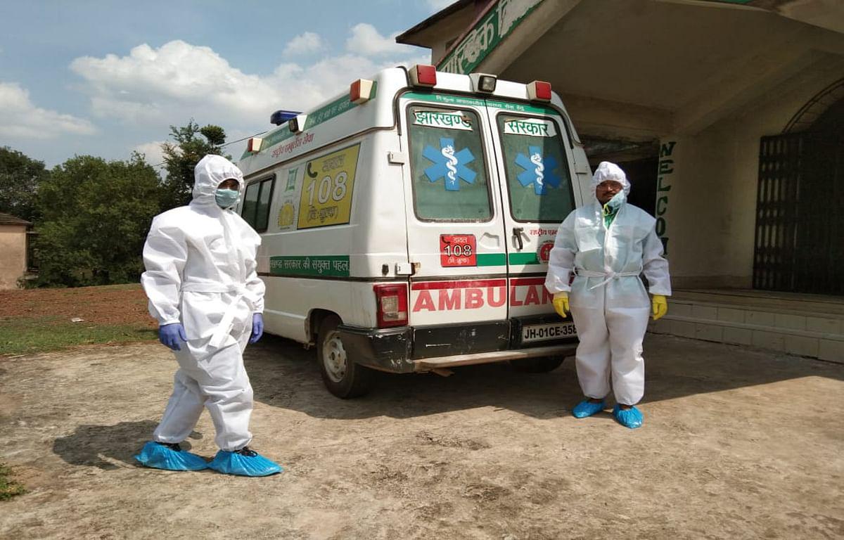 Covid-19 in jharkhand : कोरोना संक्रमित सीआरपीएफ जवान कोविड सेंटर से भागा, पकड़ाया