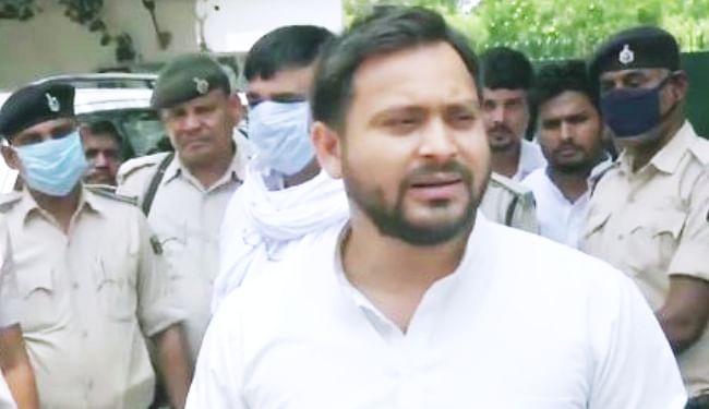 किसानों के साथ तानाशाही रवैया अपना रही केंद्र सरकार, तेजस्वी यादव ने केंद्र सरकार पर बोला हमला