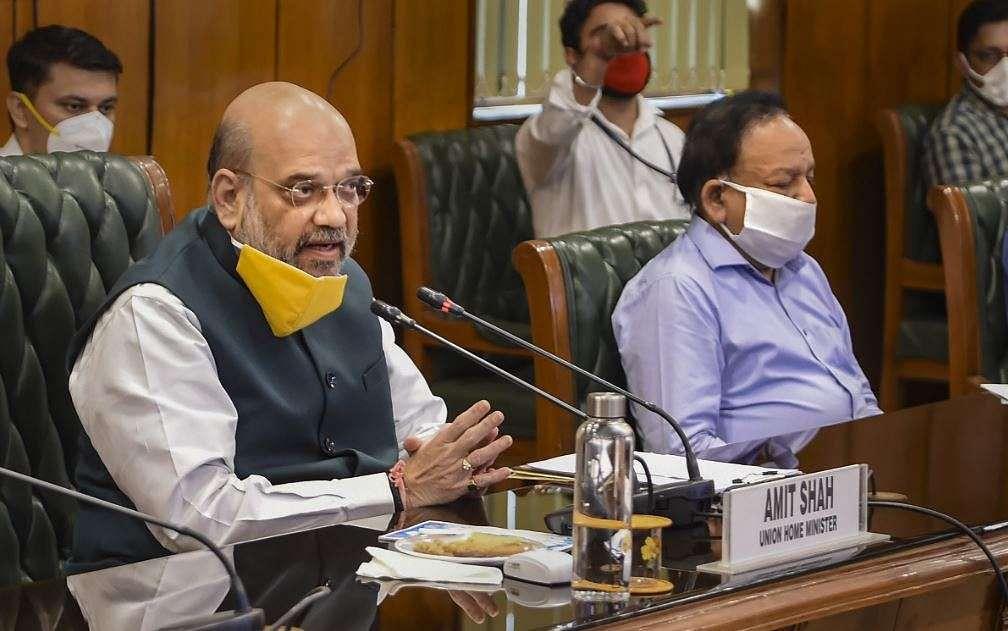 अमित शाह की सर्वदलीय बैठक में खत्म, दिल्ली में कोरोना जांच की बढ़ेगी रफ्तार, कंटेनमेंट जोन में बढ़ेगी ट्रेसिंग