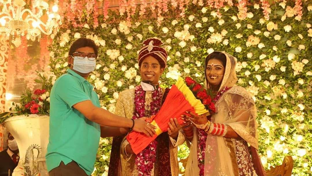 झारखंड की राजकुमारी दीपिका कुमारी की शादी की एक्सक्लूजिव तस्वीरें