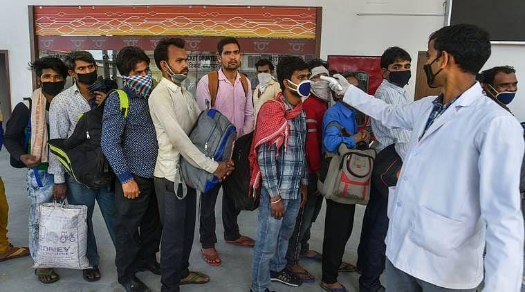 मुंबई से पहुंची फ्लाइट में यात्री मिला पॉजिटिव, होम कोरेंटिन में भेजा गया खगड़िया