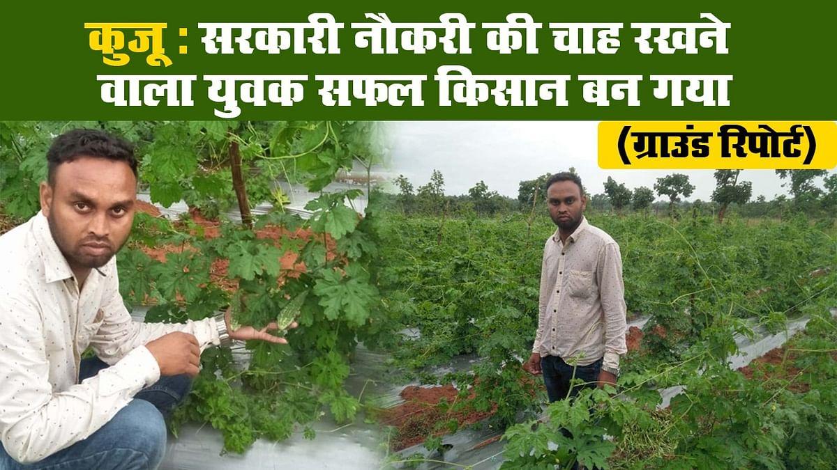कुजू : सरकारी नौकरी की चाह रखने वाला युवक सफल किसान बन गया II ग्राउंड रिपोर्ट