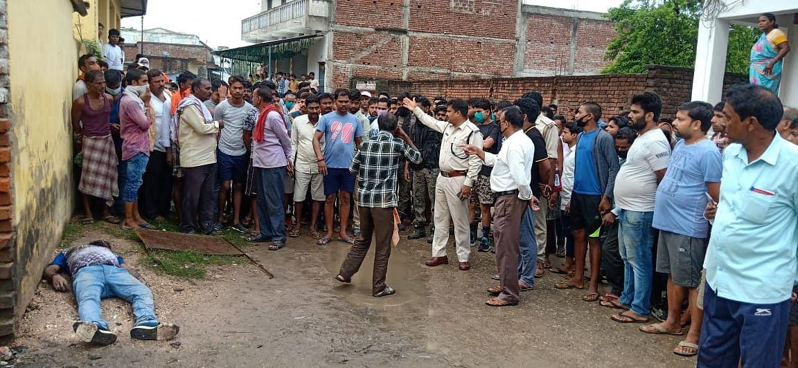 हरिहरगंज में युवक की गोली मारकर हत्या, जांच में जुटी पुलिस