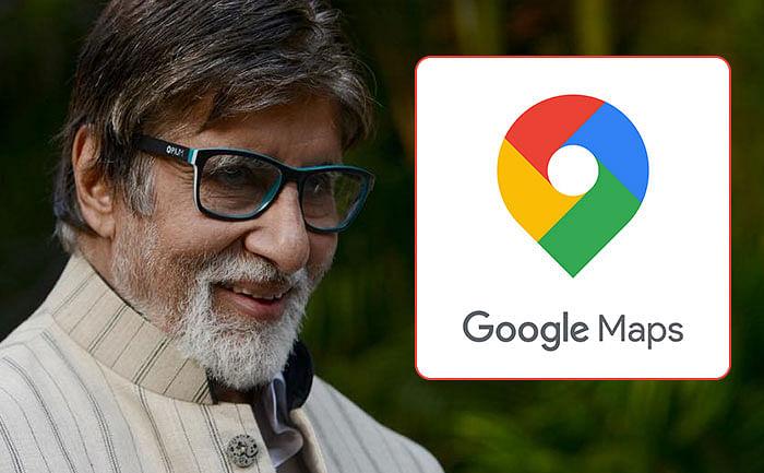 Google Maps पर अब अमिताभ बच्चन आपको दिखाएंगे 'सही रास्ता'