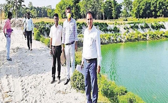 बिहार जल-जीवन-हरियाली मिशन : 2655 वर्ग किमी में नये जल स्रोतों का किया गया निर्माण
