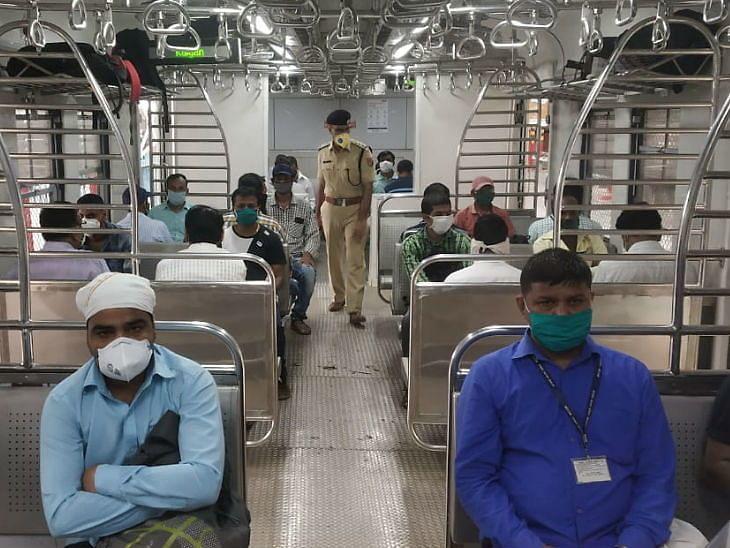 आज से पटरी पर दौड़ी मुंबई लोकल लोकल ट्रेन, सिर्फ जरूरी सेवाओं से जुड़े लोगों को यात्रा की इजाजत