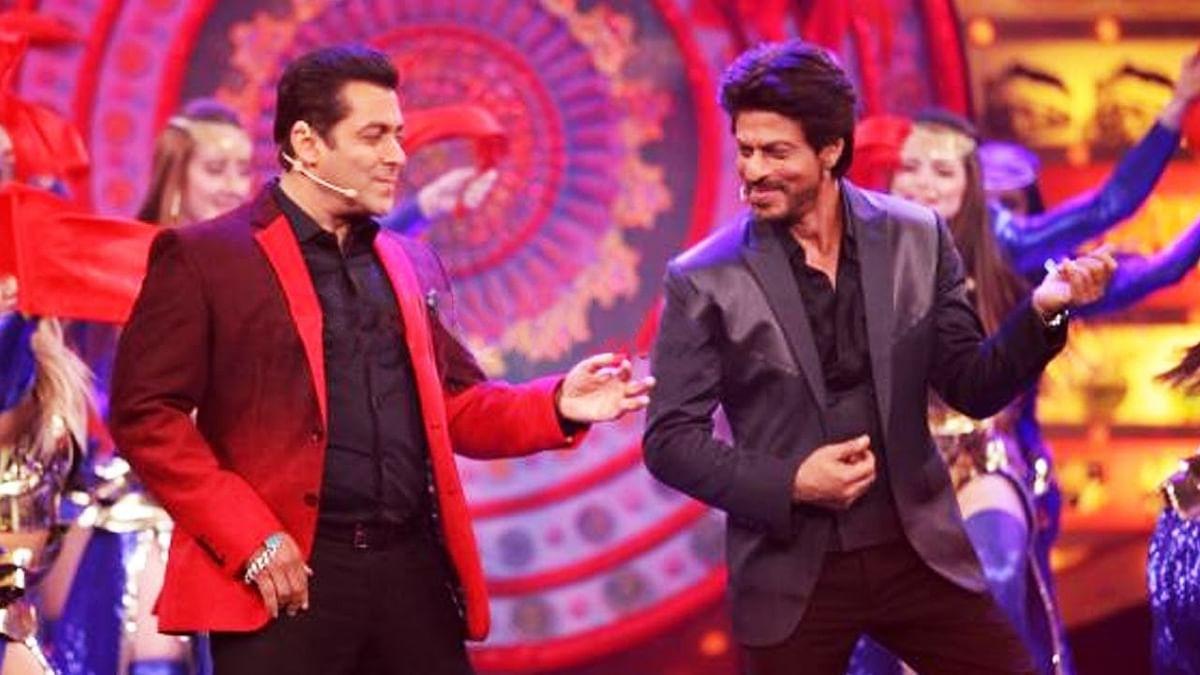 VIDEO: जब शाहरुख और सलमान ने एक साथ इस गाने पर किया डांस, थ्रोबैक वीडियो हो रहा वायरल