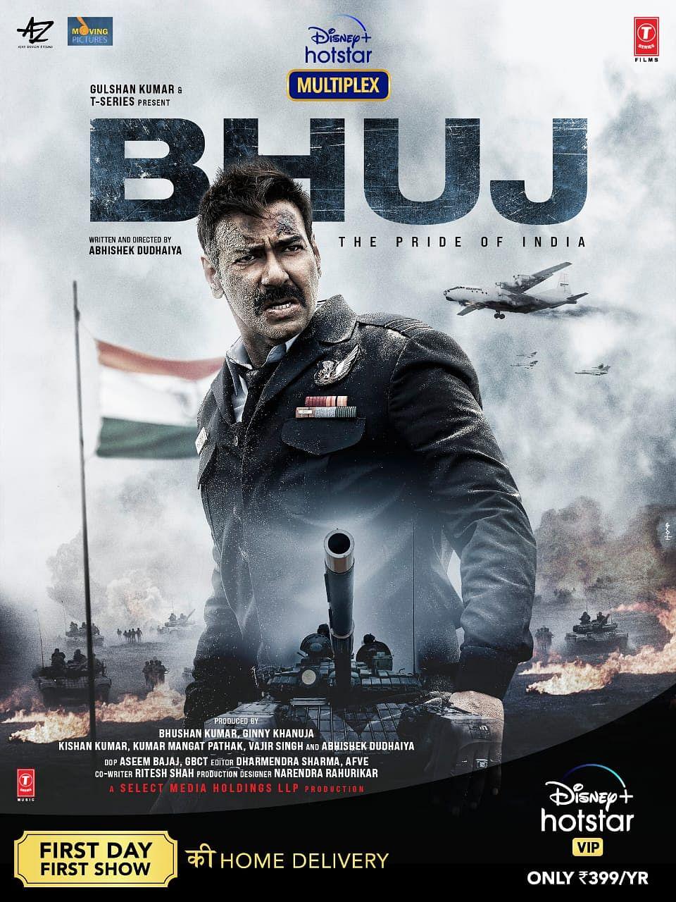 भुज दी प्राइड ऑफ इंडिया फिल्म का पोस्टर
