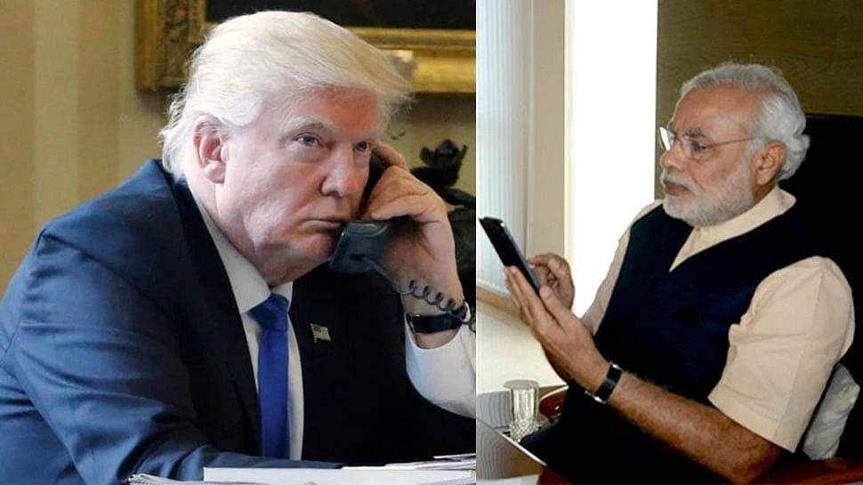 प्रधानमंत्री नरेंद्र मोदी और अमेरिकी राष्ट्रपति डोनाल्ड ट्रंप ने फोन पर की बात, भारत - चीन सीमा विवाद सहित कई मुद्दों पर हुई चर्चा