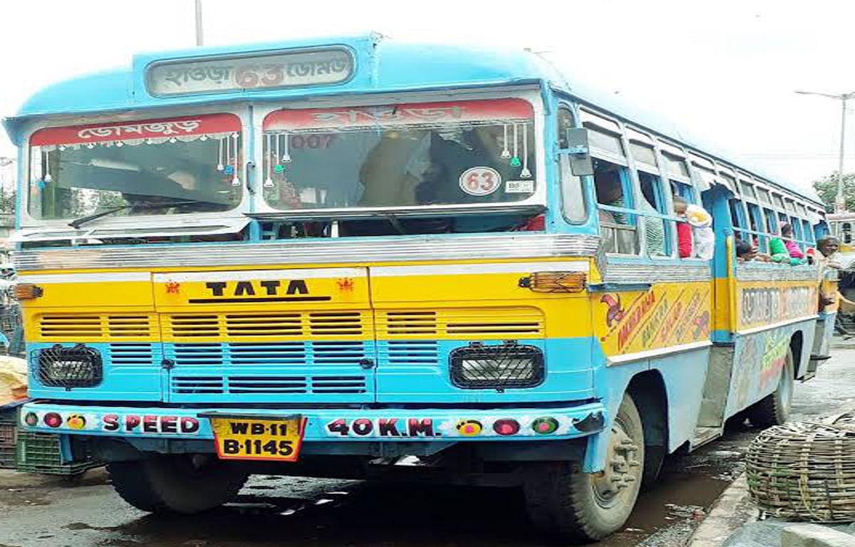 नहीं दिख रही कोलकाता की सड़कों पर निजी बसें, यात्रियों को हो रही परेशानी
