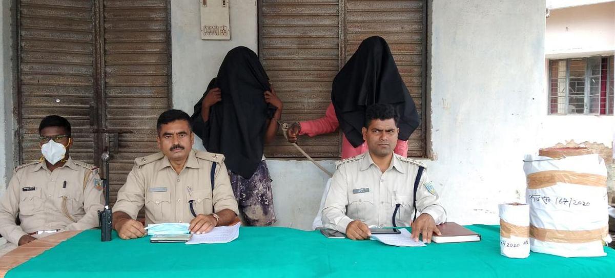 अफीम के अवैध कारोबार के खिलाफ चतरा में सघन अभियान, भारी मात्रा में गीली अफीम के साथ 2 गिरफ्तार