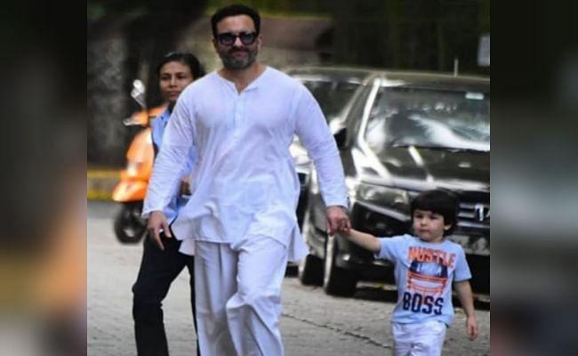 VIDEO: सैफ अली खान से जब पुलिसवाले ने कहा- बच्चों को बाहर नहीं लाना है... एक्टर ने दिया ऐसा रिएक्शन