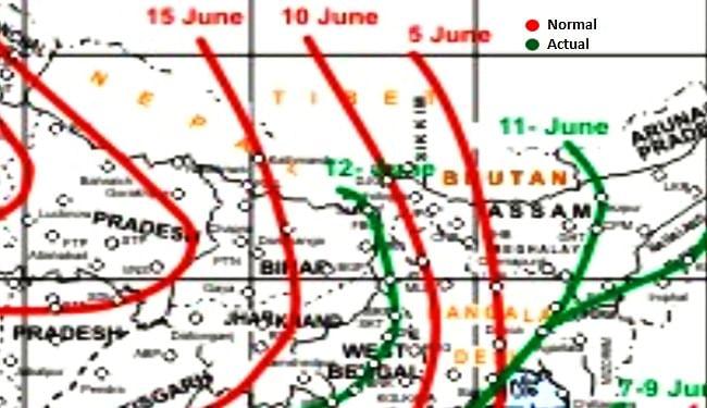 Bihar Weather Forecast : बिहार में 14 मई तक सक्रिय रहेंगी प्री मॉनसून, तापमान अभी और गिरेगा