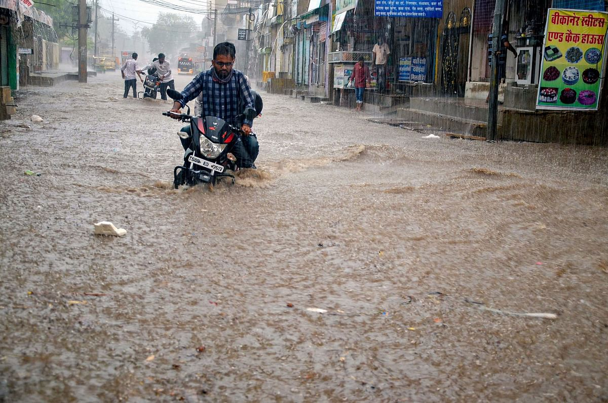 Bihar Weather News: इस मानसून में हो रही है जमकर बरसात, अब तक साल की 80 फीसदी हो चुकी है बारिश