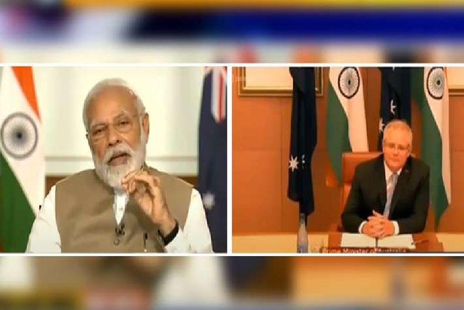 भारत और ऑस्ट्रेलिया मिलकर लड़ेंगे कोविड 19 से, कई और मुद्दों पर भी बनी सहमति