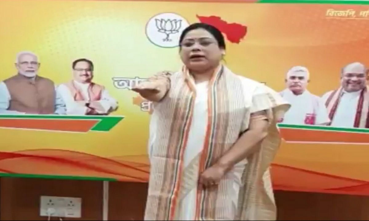 केंद्रीय राज्य मंत्री देबश्री ने आत्मनिर्भर भारत की ली शपथ, कहा- चीन का बहिष्कार करते हुए स्वदेशी उत्पादों का करें इस्तेमाल