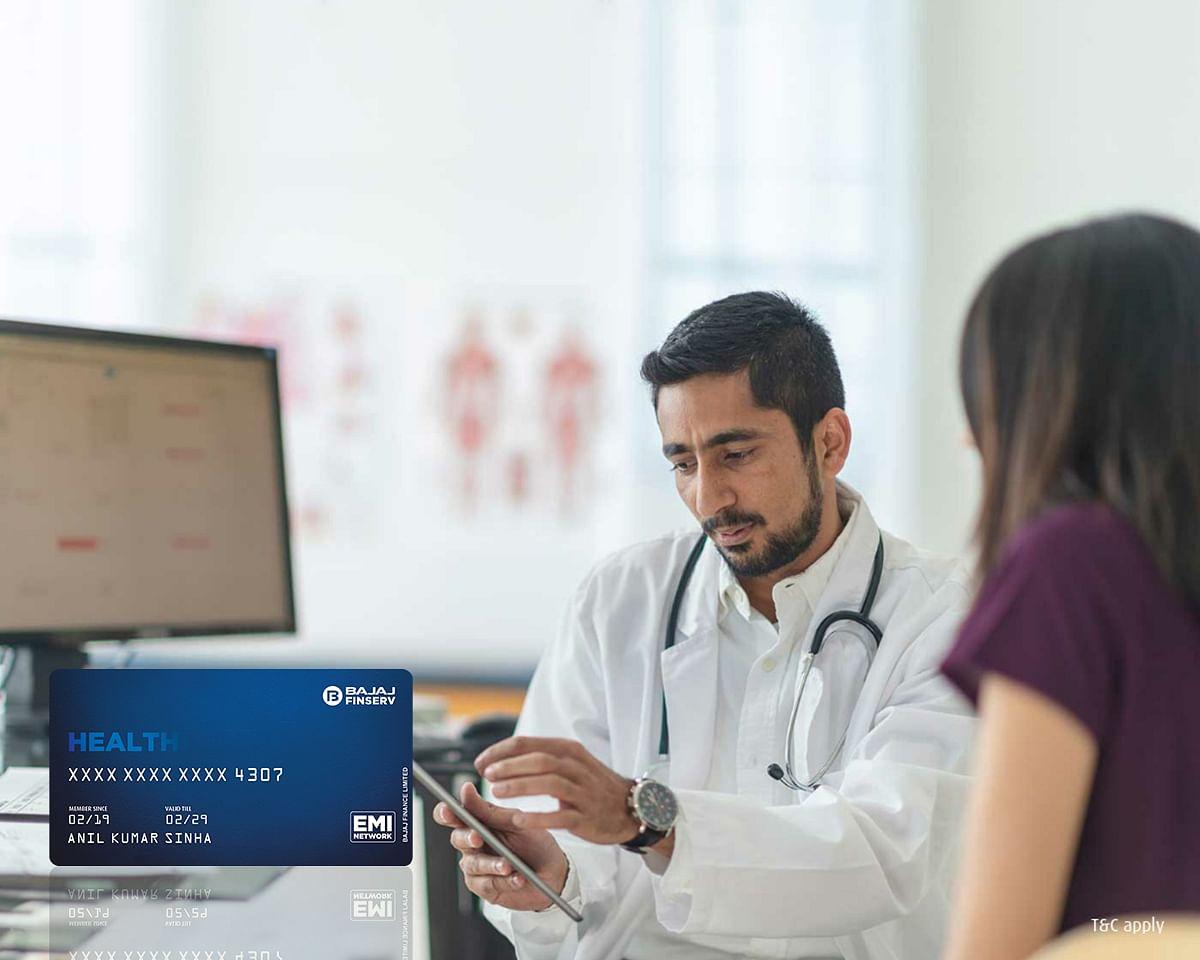 बजाज फिनसर्व की 'No Cost EMIs' की सुविधा, इलाज पर होने वाले खर्च के भुगतान के लिए Pre- Approved लिमिट के साथ