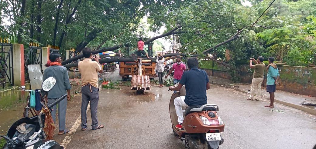 Jharkhand Weather Today : सावन की दूसरी सोमवारी पर झारखंड में जमकर बरसे बदरा, वज्रपात से 5 लोगों की मौत