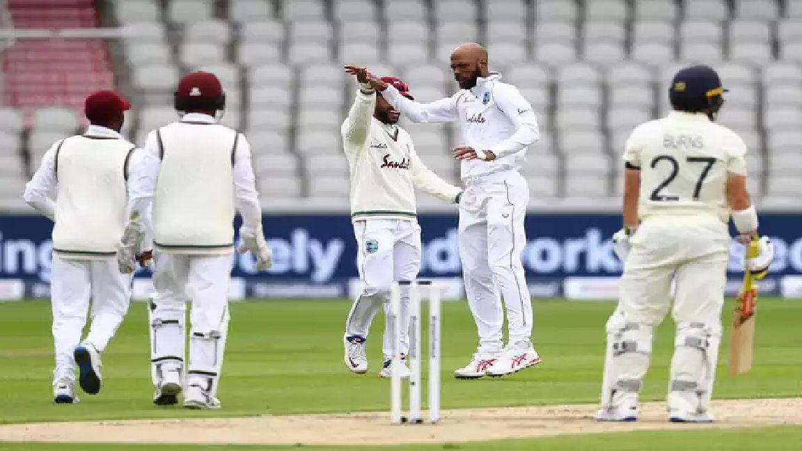 England vs West Indies Score 2nd Test Day 1: इंग्लैंड को तीसरा झटका, कप्तान जो रूट 23 रन पर आउट - ENG 103/3 (45.0)