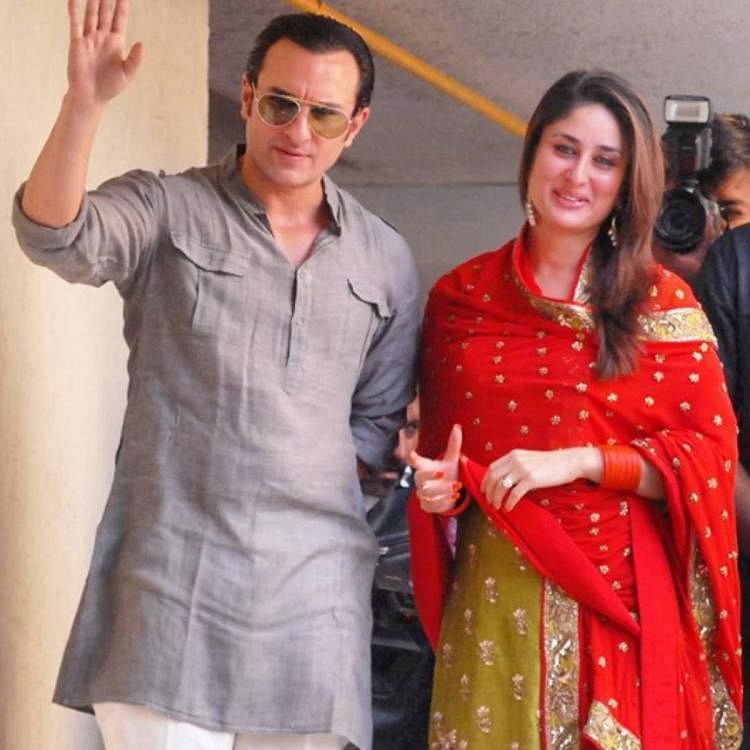करीना कपूर खान और सैफ अली खान की नवविवाहित जोड़ी के रूप में थ्रो बैक फोटो वाकई मनमोहक है.