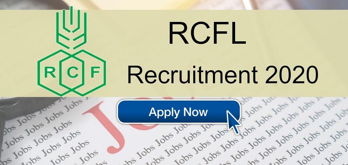 RCFL Recruitment 2020: बंधन प्रशिक्षुओं, सहायक अधिकारियों और अन्य पदों के लिए करें  ऑनलाइन आवेदन