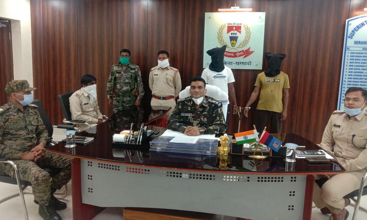 महाराज प्रमाणिक दस्ता का 2 हार्डकोर नक्सली गिरफ्तार, कई मामलों में था शामिल