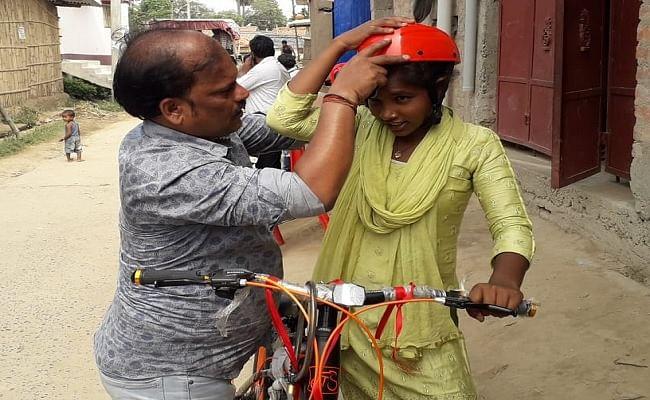बिहार में चलेगा ड्रग्स पर पूर्ण विराम अभियान, ब्रांड एंबेसडर बनी साइकिल गर्ल ज्योति